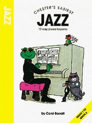 Chester's Easiest Jazz Carol Barratt Partition Piano - laflutedepan