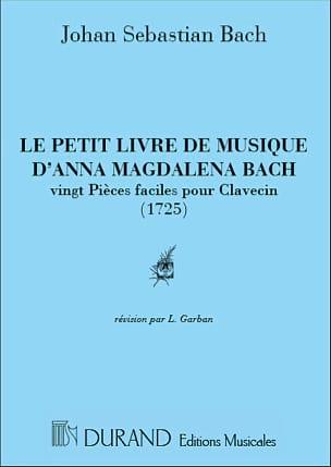 BACH - El pequeño libro de Anna Magdalena Bach - Partitura - di-arezzo.es