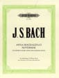 BACH - Anna Magdalena's Little Book - Sheet Music - di-arezzo.co.uk