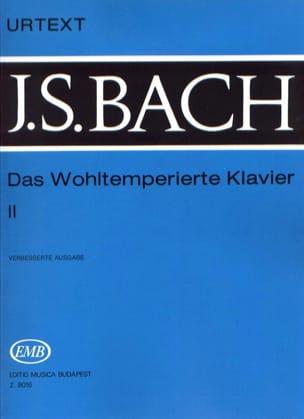BACH - Le Clavier Bien Tempéré Volume 2 - Partition - di-arezzo.fr