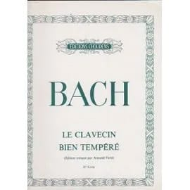 BACH - Clavecin Bien Tempéré Volume 2 - Partition - di-arezzo.fr