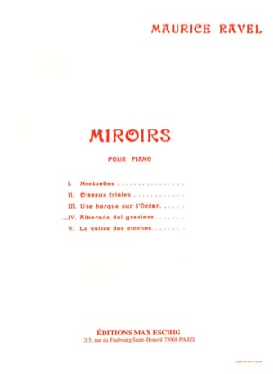 Maurice Ravel - Alborada Del Gracioso - Sheet Music - di-arezzo.co.uk