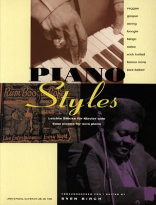 Piano Styles - Sven Birch - Partition - Piano - laflutedepan.com
