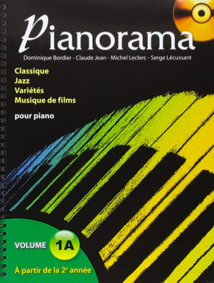 Pianorama 1A Partition Piano - laflutedepan