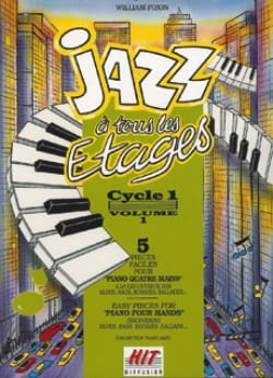 - Jazz A Tous les Etages Cycle 1. 4 Mains - Partition - di-arezzo.fr
