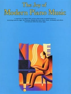 Joy Of Modern Piano Music Partition Piano - laflutedepan