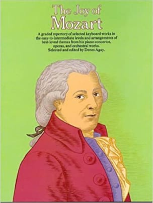 Joy Of Mozart Partition Piano - laflutedepan
