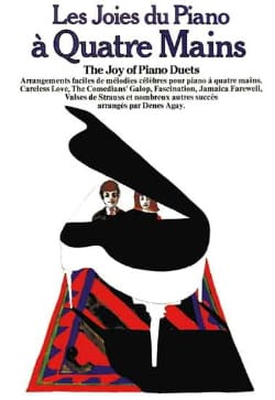 - Les Joies Du Piano 4 Mains - Partition - di-arezzo.fr