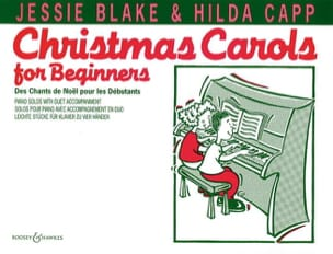 Christmas Carols For Beginners. 4 Mains Jessie Blake laflutedepan