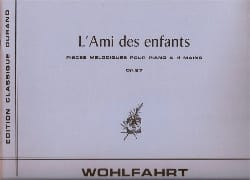 Heinrich Wohlfahrt - The friend of the Children Opus 87. 4 Hands - Sheet Music - di-arezzo.com