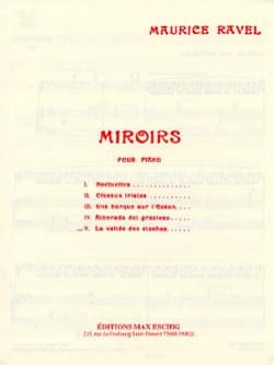 Maurice Ravel - Valley of the Bells - Sheet Music - di-arezzo.co.uk