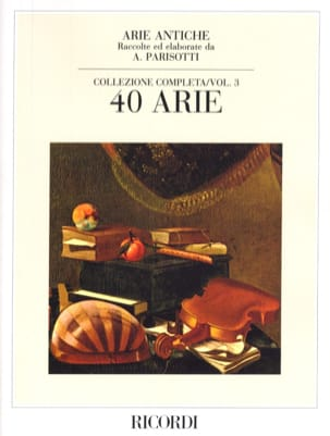 Alessandro Parisotti - Arie Antiche Volume 3 - Partition - di-arezzo.fr