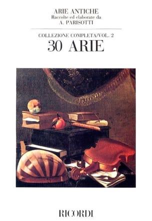 Alessandro Parisotti - Arie Antiche Volume 2 - Partition - di-arezzo.fr