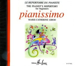 CD - Pianissimo Béatrice Quoniam Partition Piano - laflutedepan