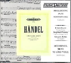 HAENDEL - 9 Deutsche Arien CD - Partition - di-arezzo.fr