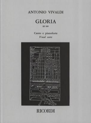 VIVALDI - Gloria - Sheet Music - di-arezzo.com