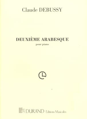 DEBUSSY - 2nd Arabesque - Partition - di-arezzo.co.uk