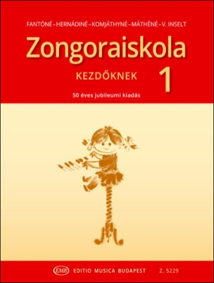 Zongora Iskola Volume 1 Partition Piano - laflutedepan