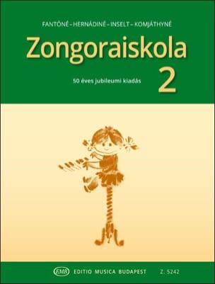 - Zongora Iskola - Volume 2 - Partition - di-arezzo.fr