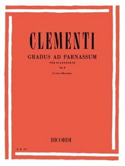 Gradus Ad Parnassum Volume 2 CLEMENTI Partition Piano - laflutedepan