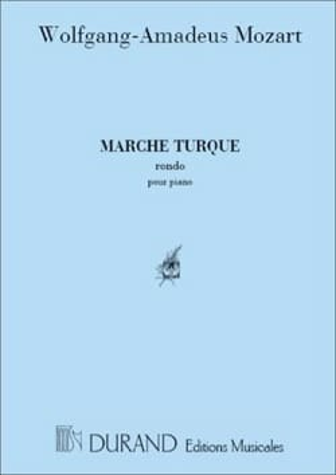 MOZART - Marche Turque - Partition - di-arezzo.fr