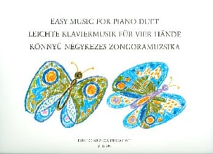 - Easy Music For Piano Duets. 4 Mains - Partition - di-arezzo.fr
