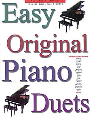 Easy Original Piano Duets - Partition - di-arezzo.fr