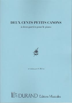 Kunz - 200 Small Cannons - Sheet Music - di-arezzo.co.uk