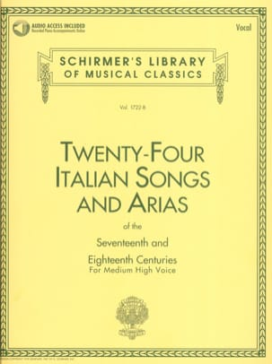 - 24 Italian Songs And Arias High Voice - Sheet Music - di-arezzo.co.uk