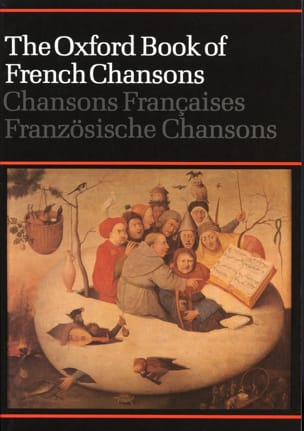 The Oxford Book of French Chansons - Partition - di-arezzo.fr