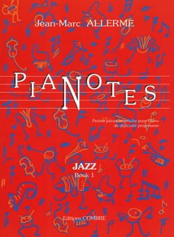 Pianotes Jazz Volume 1 Jean-Marc Allerme Partition laflutedepan