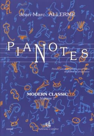 Pianotes Modern Classic Volume 2 Jean-Marc Allerme laflutedepan