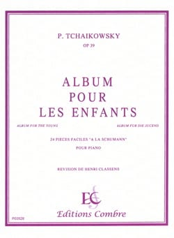 TCHAIKOWSKY - Album A Youth Opus 39 - Sheet Music - di-arezzo.com