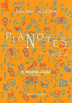 Jean-Marc Allerme - Pianotes 4 Hands Jazz Volume 3 - Sheet Music - di-arezzo.com