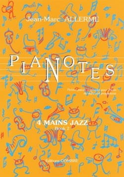 Jean-Marc Allerme - Pianotes 4 Hands Jazz Volume 2 - Sheet Music - di-arezzo.com