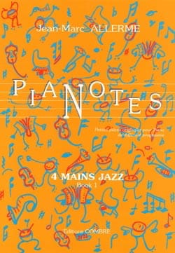 Jean-Marc Allerme - Pianotes 4 Mains Jazz Volume 1 - Partition - di-arezzo.fr
