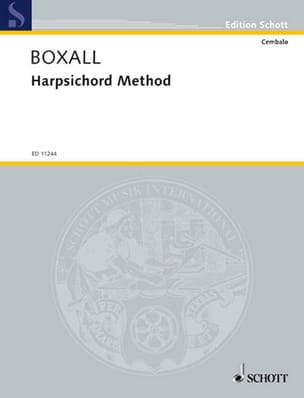 Maria Boxall - Harpsichord Method - Sheet Music - di-arezzo.co.uk