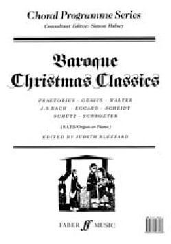 Baroque Christmas Classics SATB - Partition - di-arezzo.fr