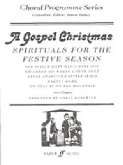 - A Gospel Christmas. Voix Egales - Partition - di-arezzo.fr