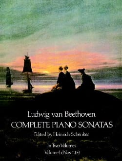 Ludwig van Beethoven - Complete Sonatas Volume 1 - Partition - di-arezzo.fr