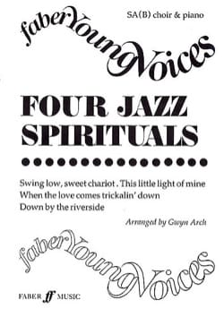 - 4 Jazz Spirituals - Partition - di-arezzo.fr