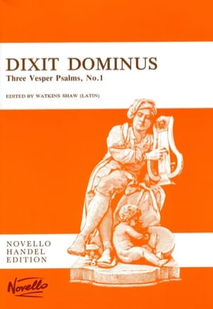 HAENDEL - Dixit Dominus - Sheet Music - di-arezzo.co.uk
