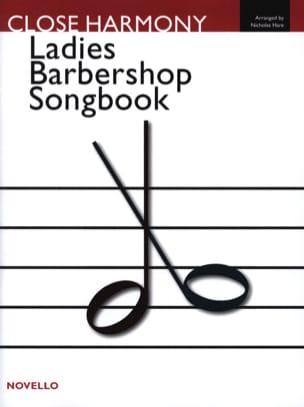 Ladies Barbershop Songbook Partition Chœur - laflutedepan