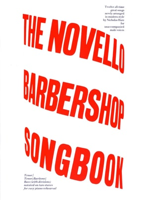 - The Novello Barbershop Songbook - Partition - di-arezzo.fr