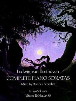 Complete Sonatas Volume 2 BEETHOVEN Partition Piano - laflutedepan