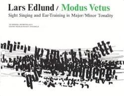 Lars Edlund - Modus Vetus - Partition - di-arezzo.fr