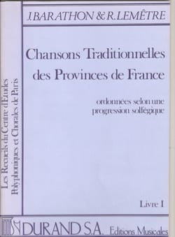 Chansons Traditionnelles des Provinces de France Volume 1 - laflutedepan.com