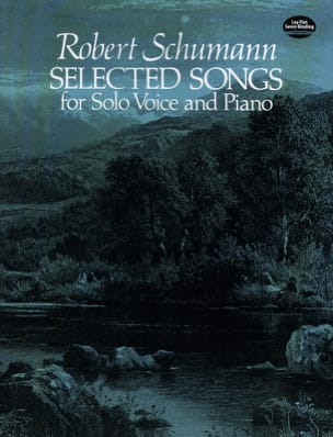 Selected Songs SCHUMANN Partition Mélodies - laflutedepan