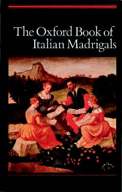 The Oxford Book of Italian Madrigal - Partition - di-arezzo.fr