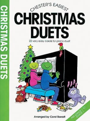 Christmas Duets Carol Barratt Partition Piano - laflutedepan